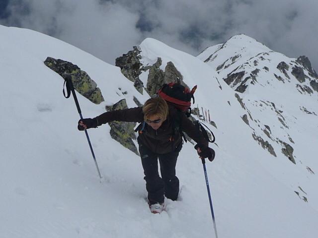 Plus que 10m avant d'arriver au sommet de Sarvatan