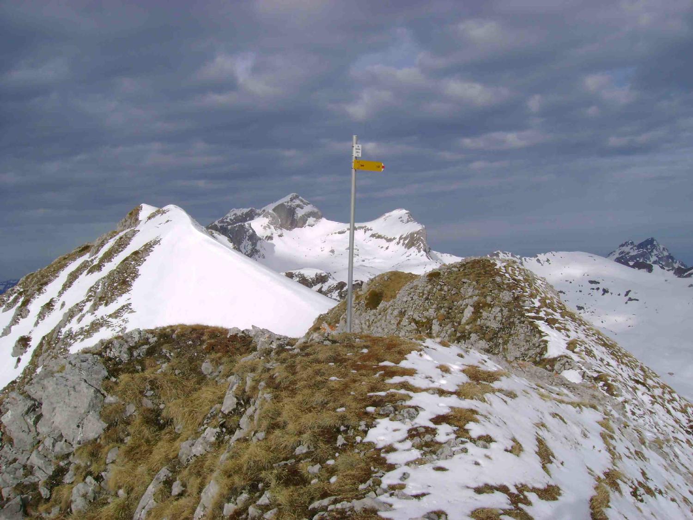 Chambairy: le sommet (avec vue sur les Cornettes de Bise)