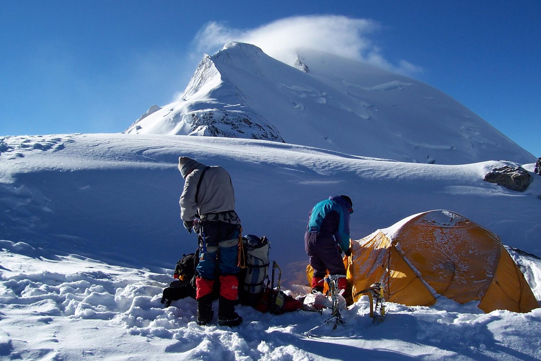 camp II à 5700m