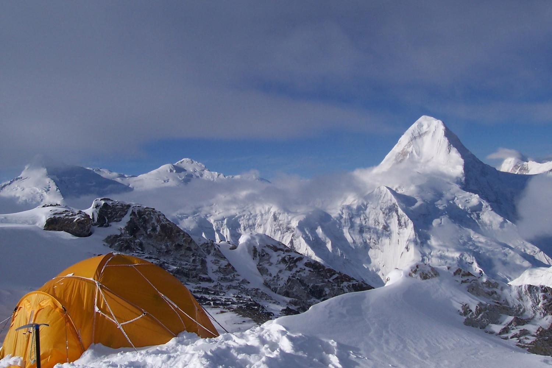 Camp II et Khan Tengri