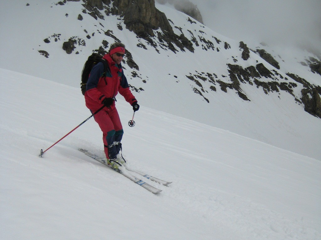 Descente du Wildstrubelgletscher