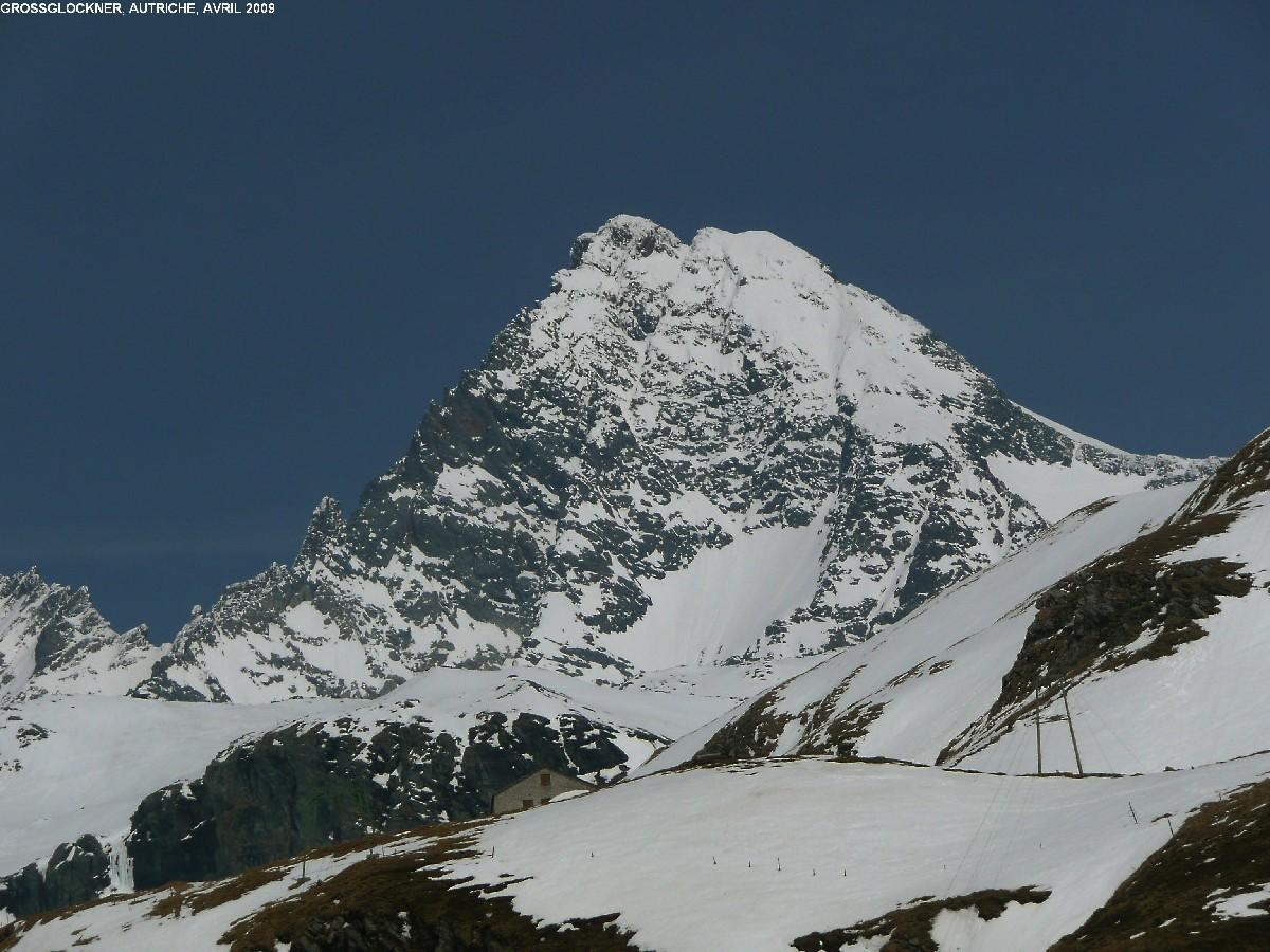 Grossglockner vu de la montée à la Stüdlhütte