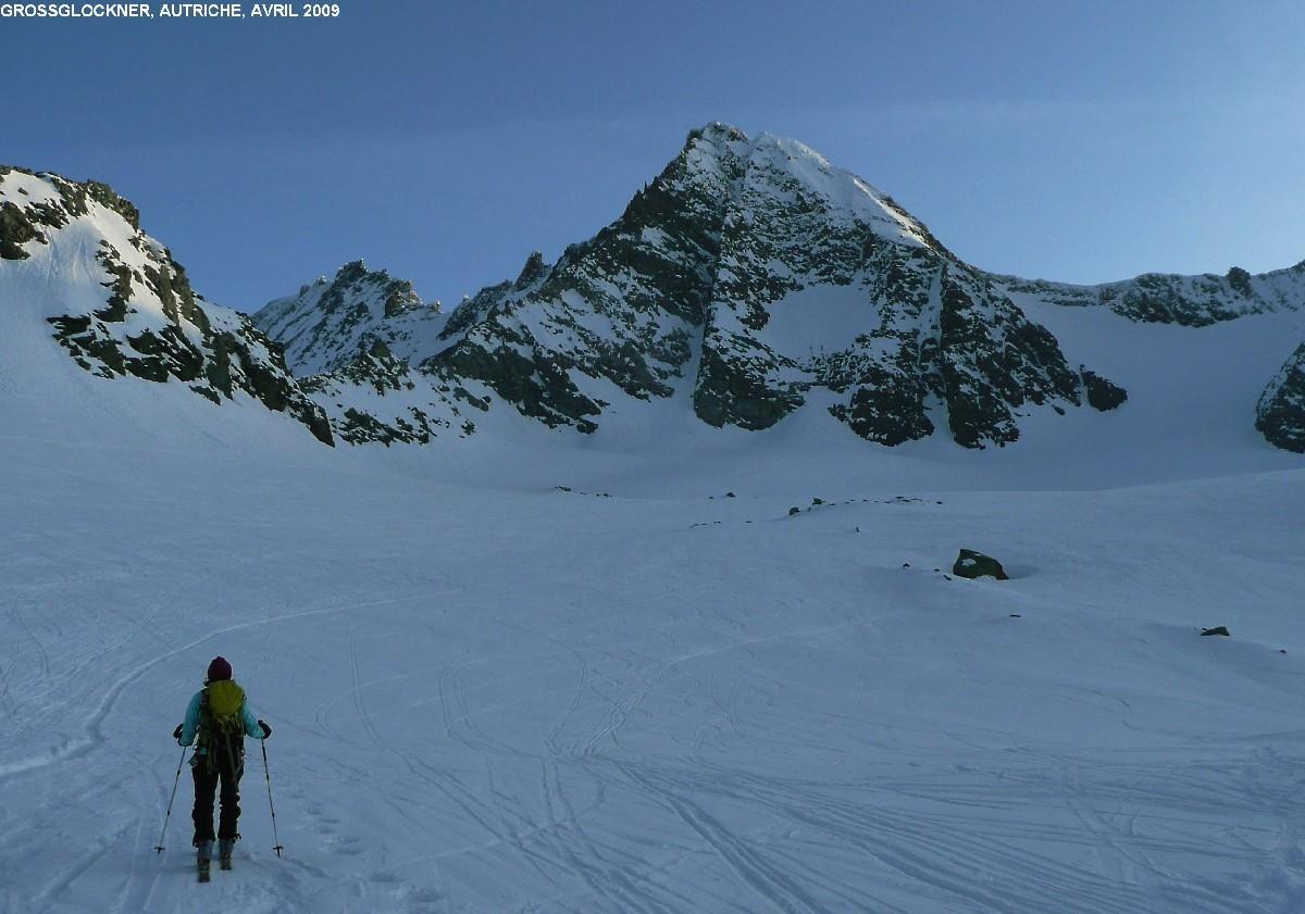 Grossglockner : montée par le glacier de Ködnitz vers 3000m
