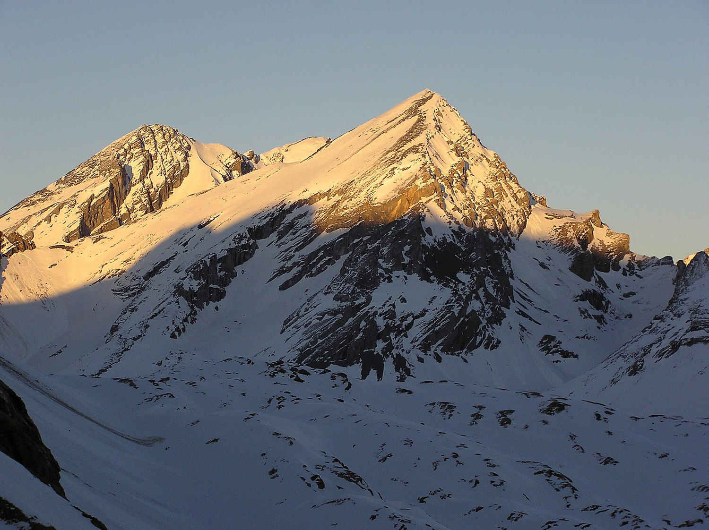 Rinderhorn depuis Lämmerenhütte