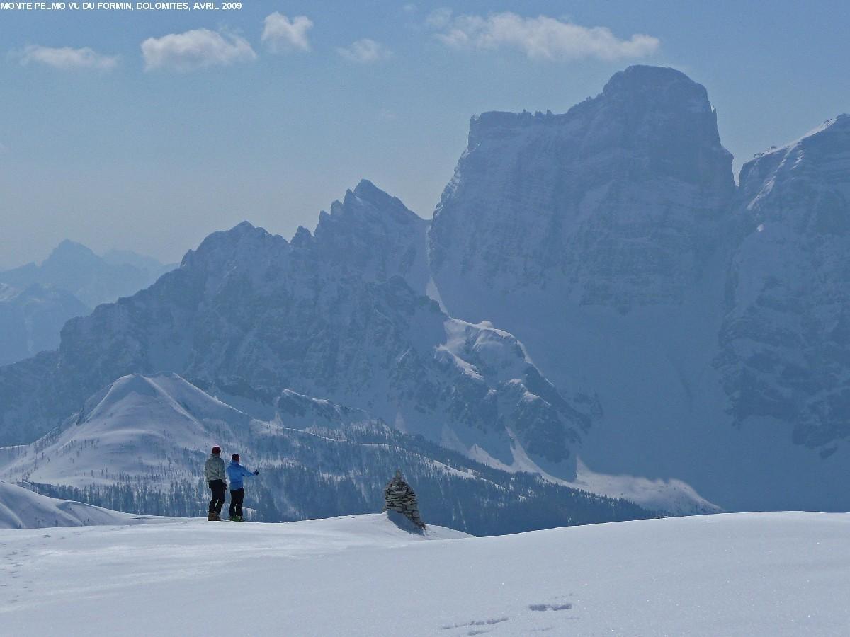 Monte Pelmo vu du sommet du Formin (Cortina)