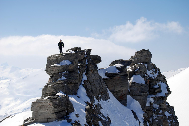 Sul Pizzo di Sterla 2948 m