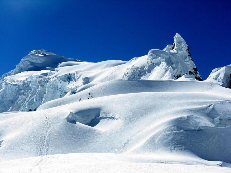 Le glacier du Pisco