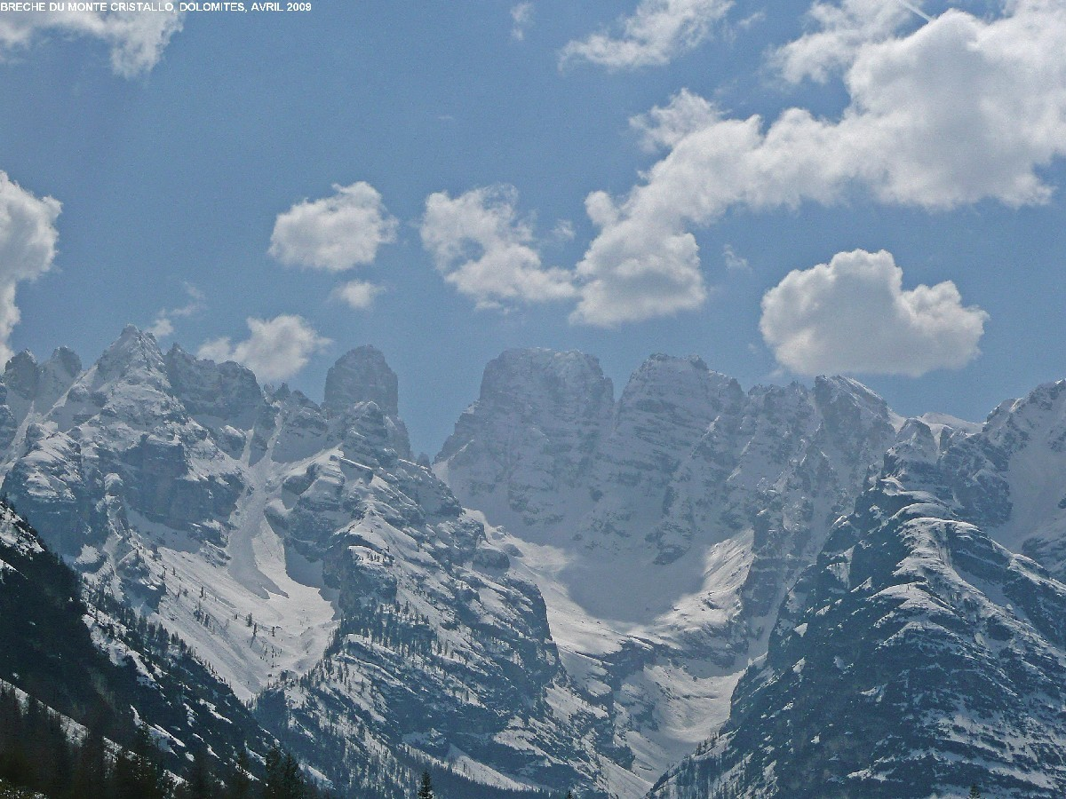 Brèche du Cristallo (Dolomites)