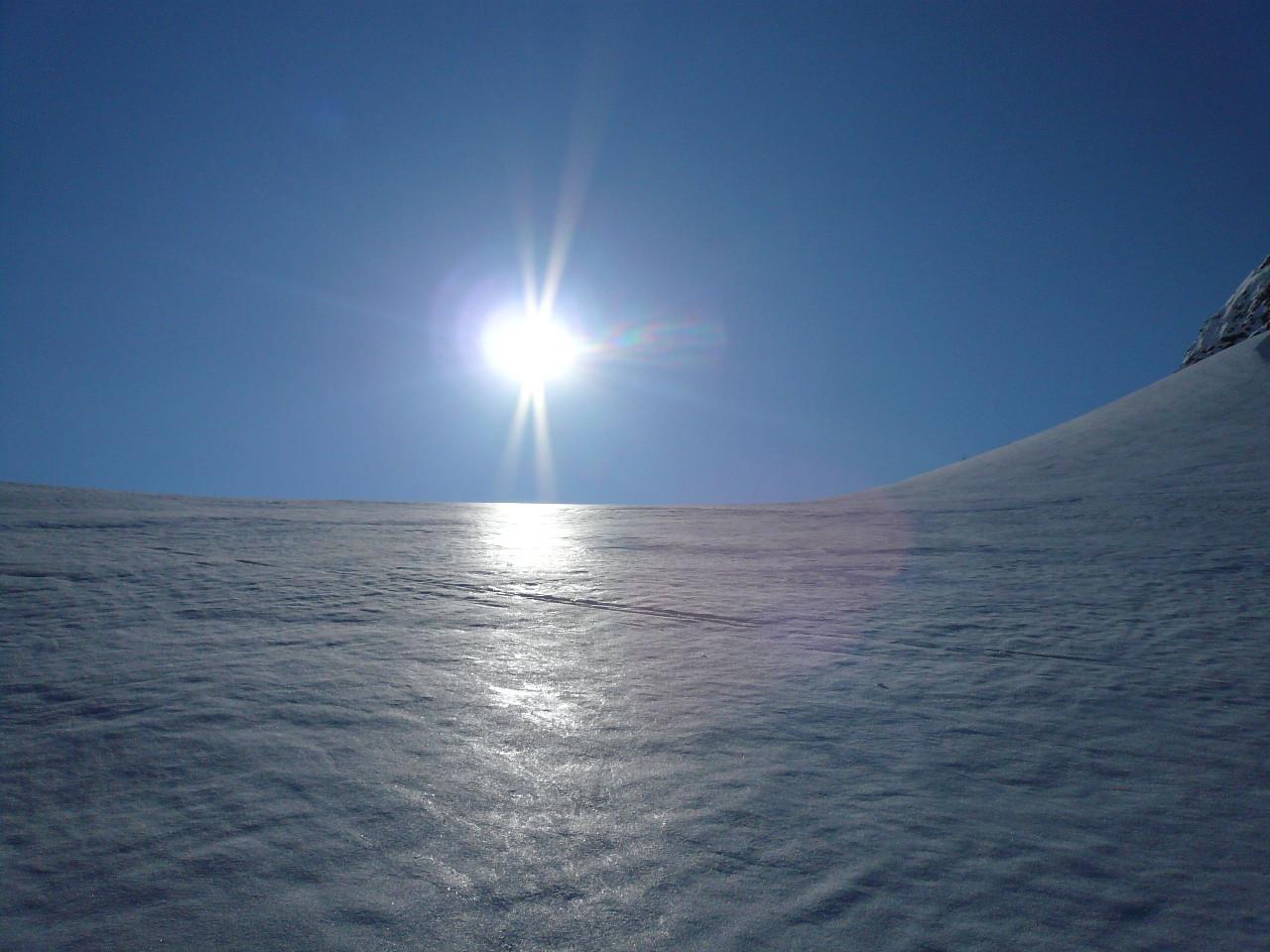 Il sole spunta da Clevio