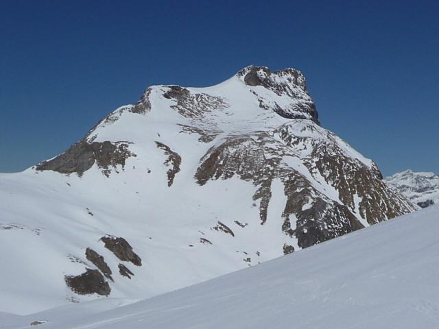 Rocher de la Plassa juste à côté du petit Mont-blanc