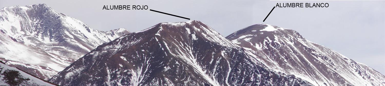 Cerro Alumbre visto desde el Médanos