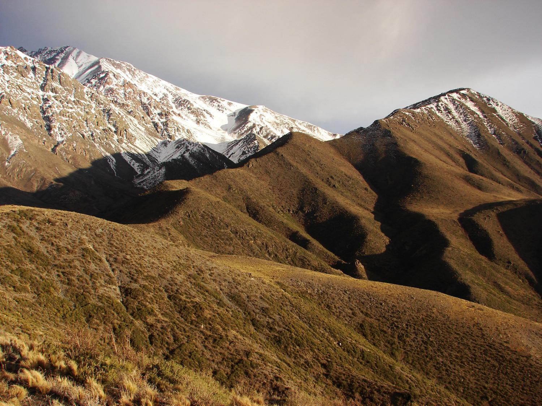 Cerro Castaño desde Cerro San Santiago