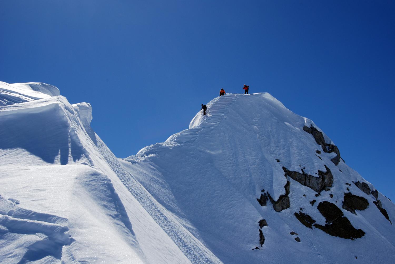 La cima del Monte Carè Alto 3462 m