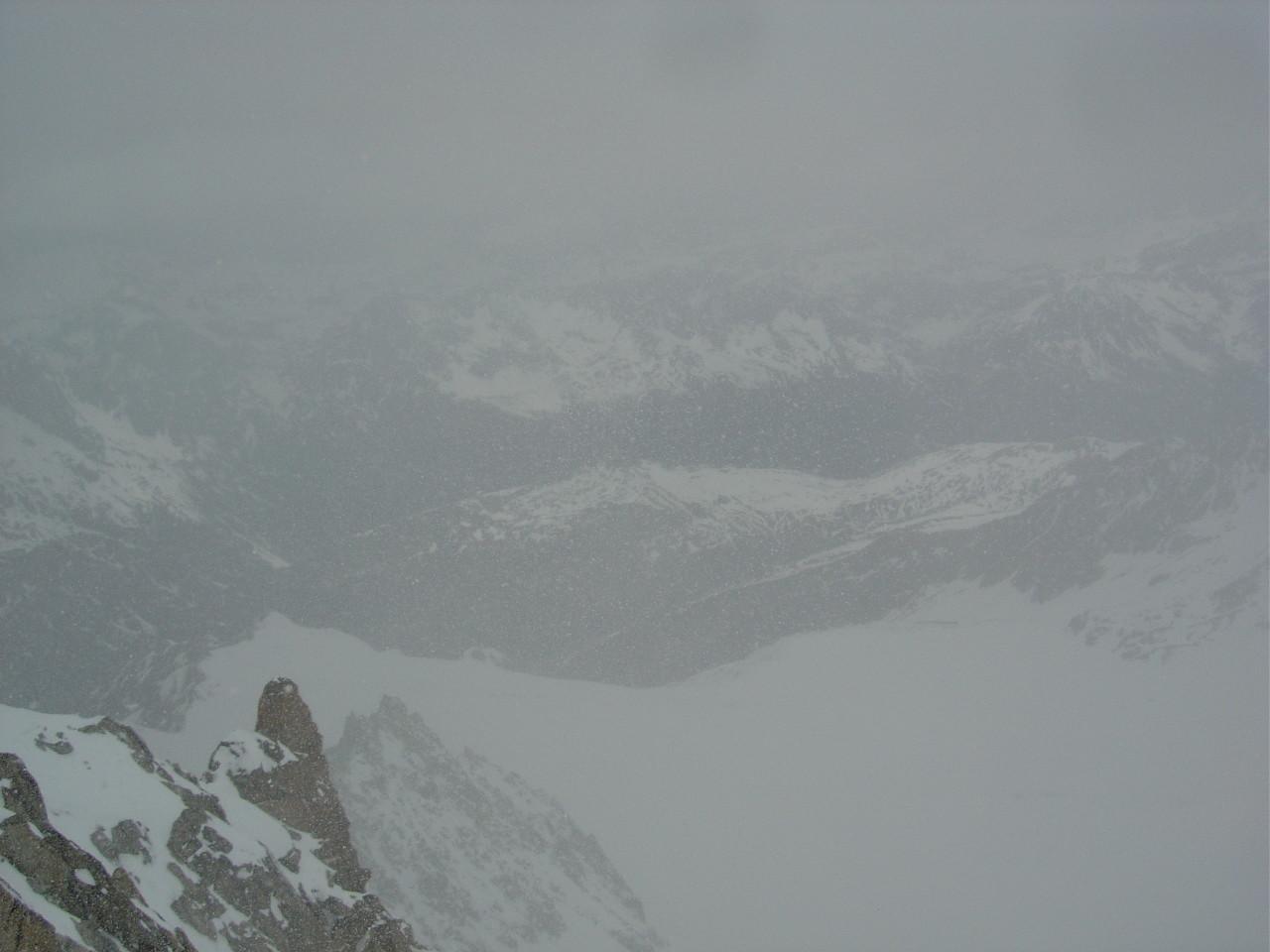 Purée sur le Tour et son glacier...