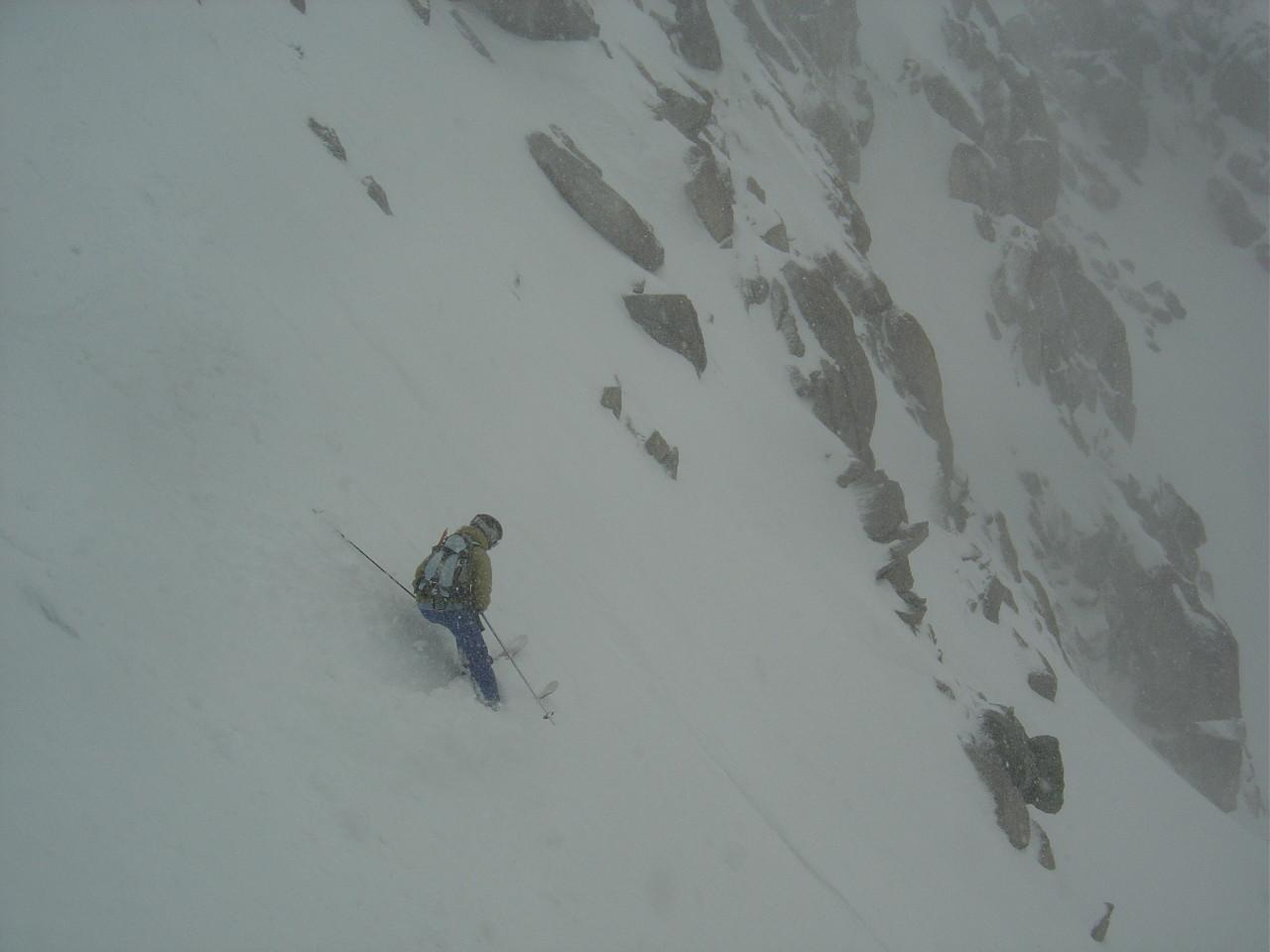Belle skieuse! Beau style!