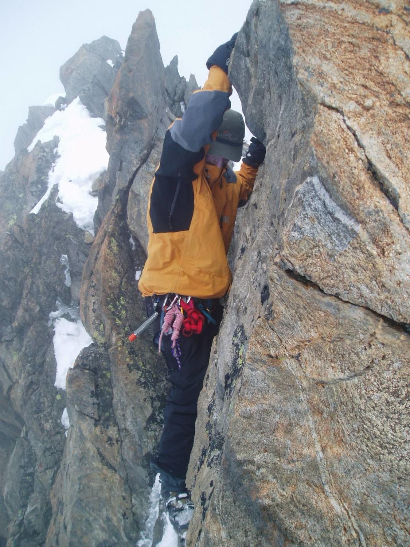 A quelques mètres du sommet