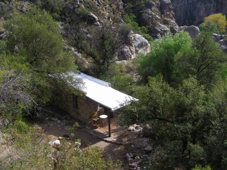 El refugio / quincho de Paredones