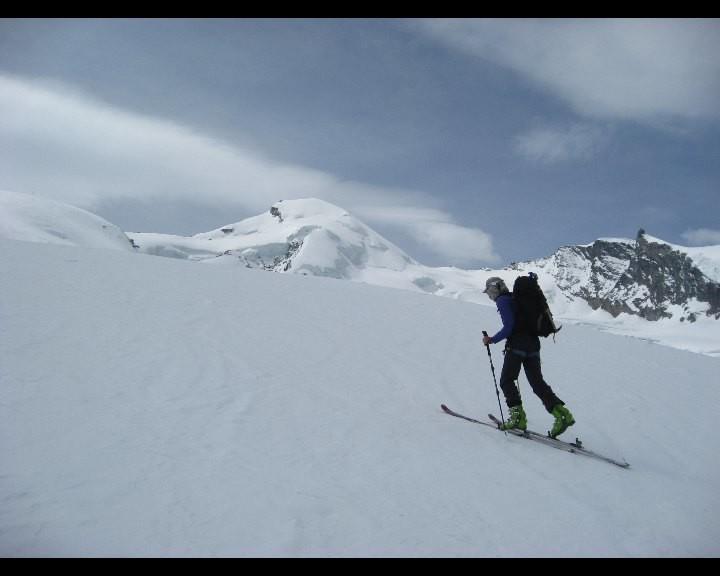 Sur le Glacier de  Fee à 3100m