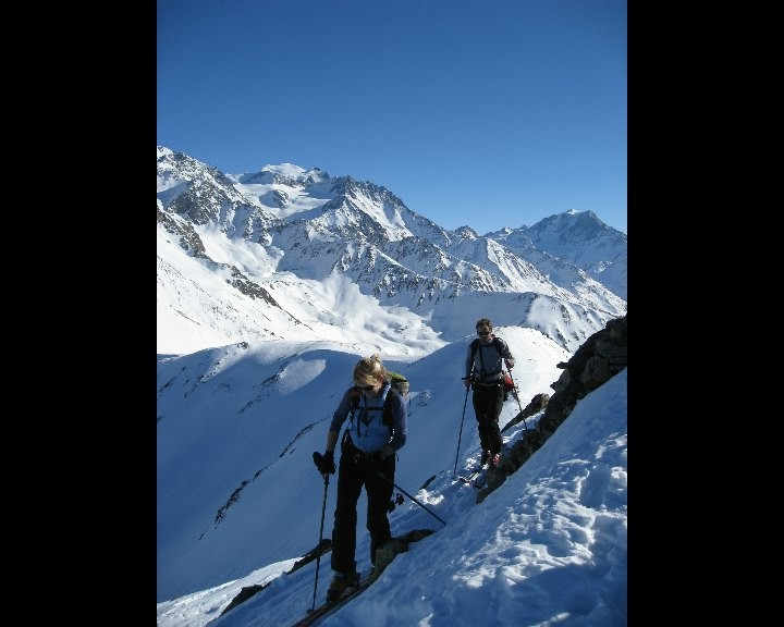 Arrivée au sommet du Mont-Brûlé, Liddes