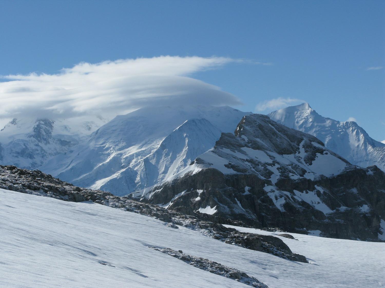 Lenticulaire au Mont-Blanc