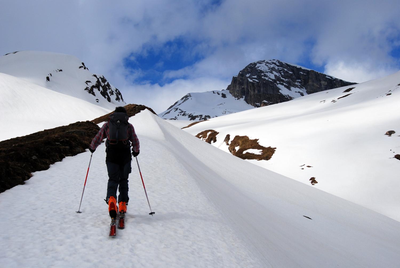 Durante la salita  al Wissberg 2980 m