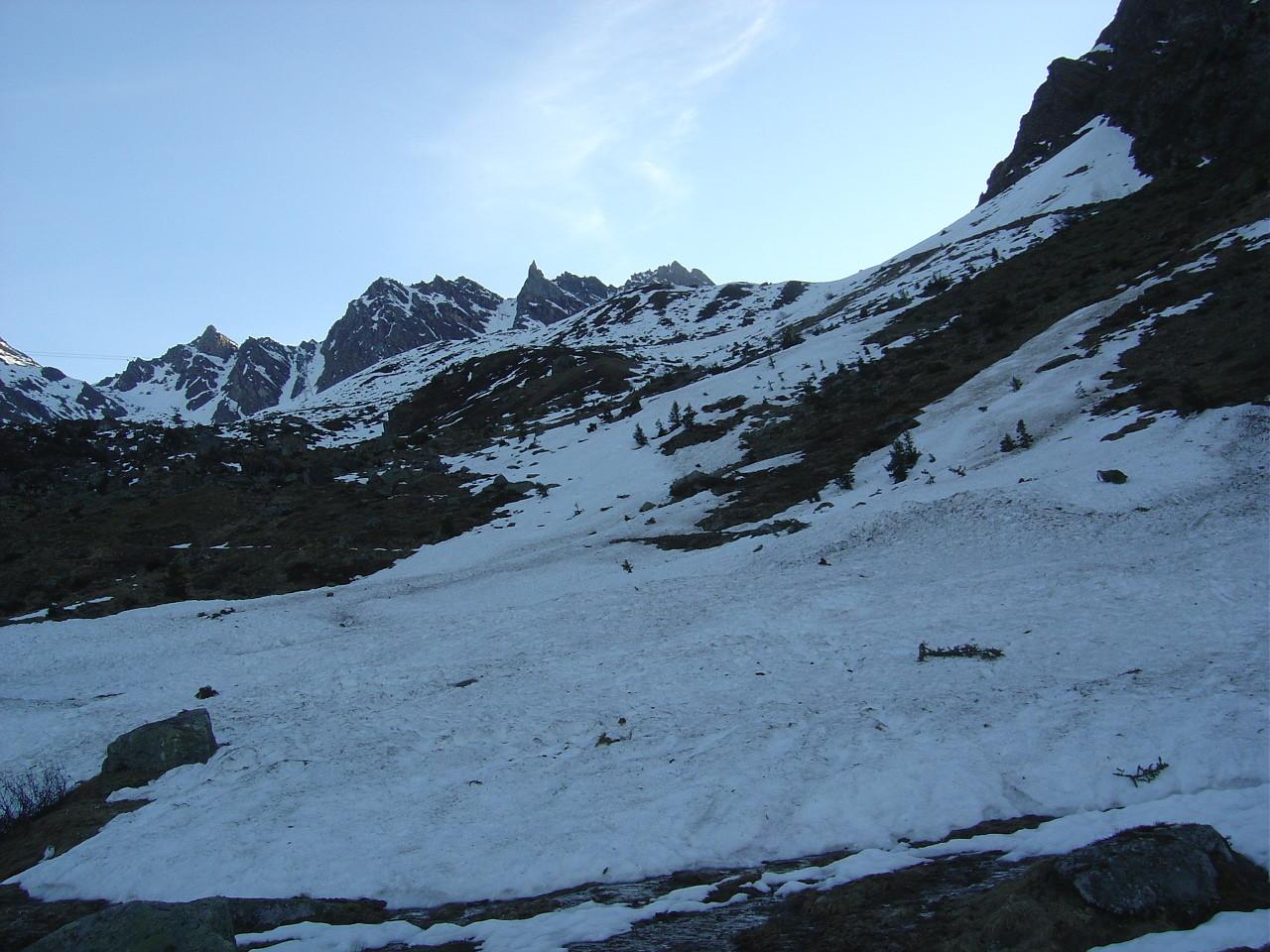 Première ou dernière neige (?) aux Clérondes