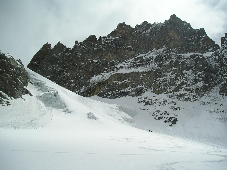 Glacier de la Grande Ruine et pic Bourcet