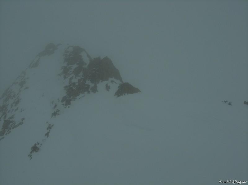 Pointe de Combette ... dans le brouillard