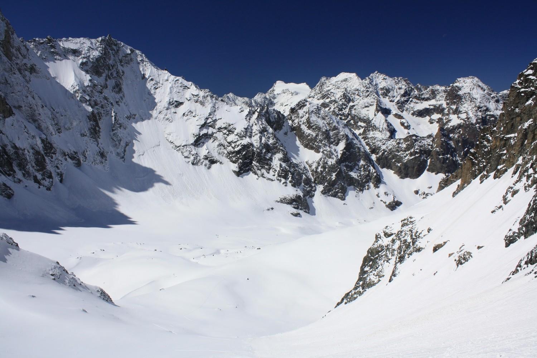 La partie haute du Vallon de Bonne Pierre