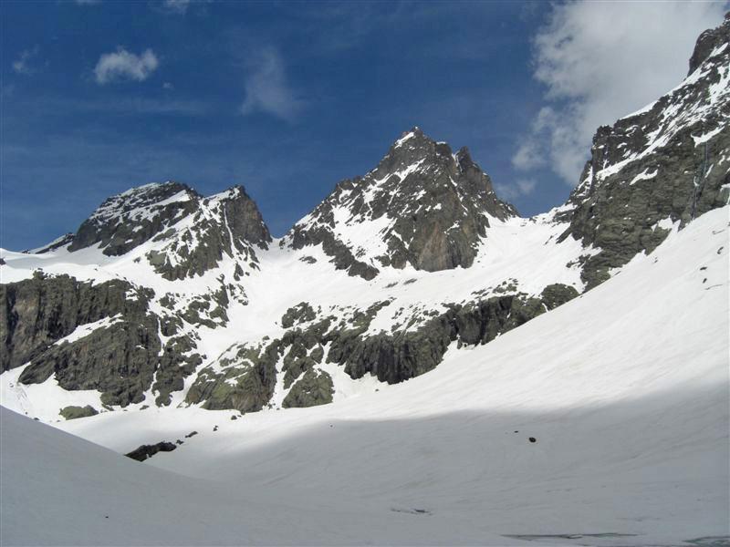 Col Nord et Cadrieghe (Itinéraire)