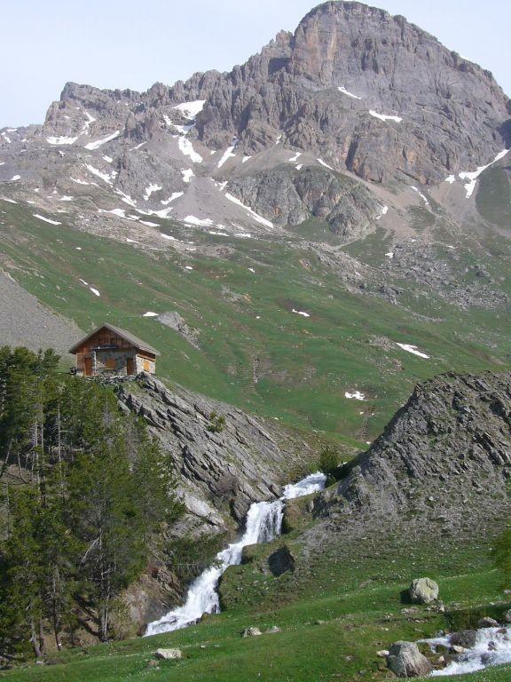 roche colombe depuis l'alpe du lauzet