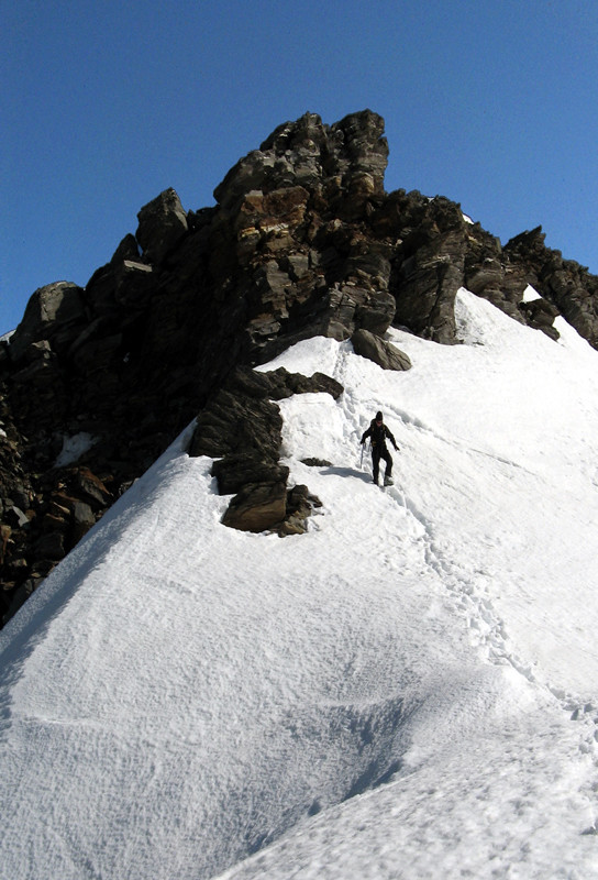 Au sommet du Mäderhorn