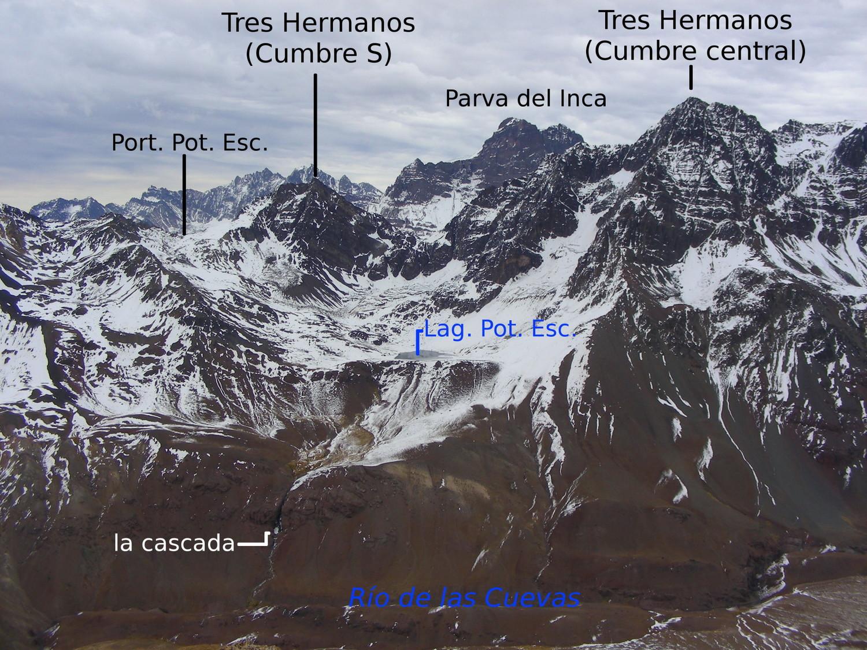 Vista hacia el W desde el Pedro Zanni (24/05/2009)