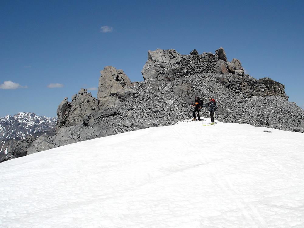 """la sommità della quota 3060 m, """"tetto"""" del Tour dell'Ables"""