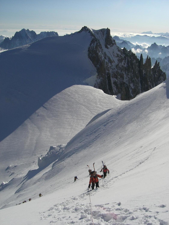 montée au mont maudit