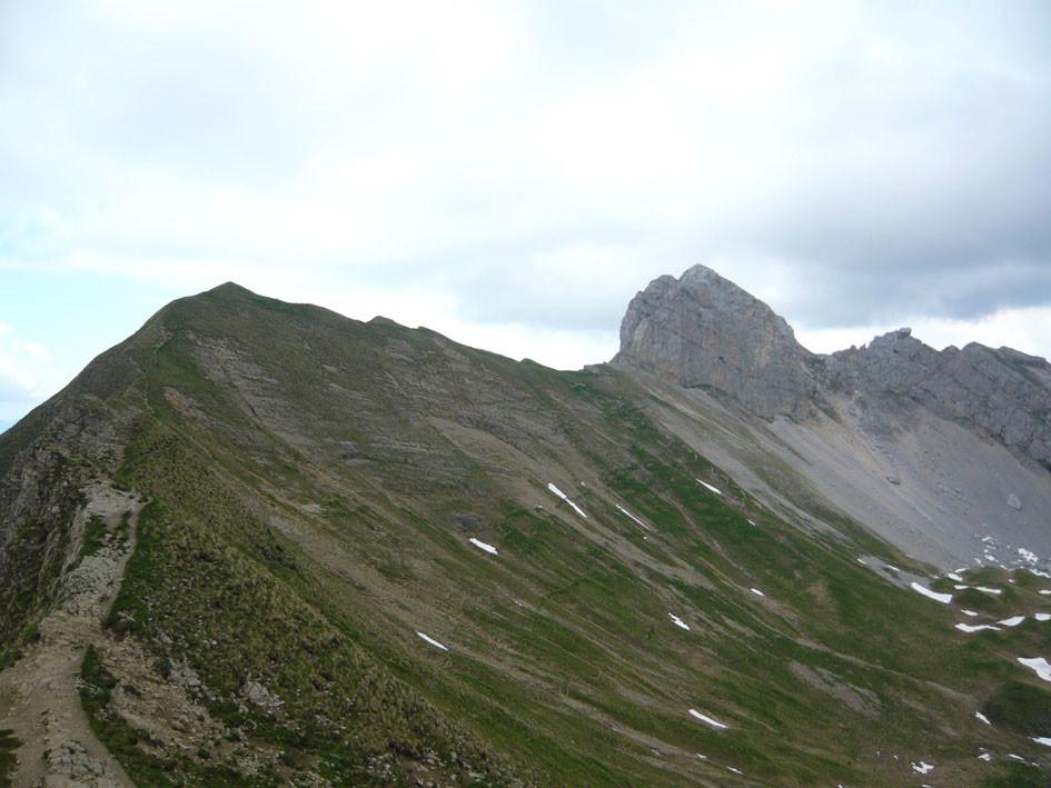 Arete du Col de Balafrasse à la Pointe du Midi