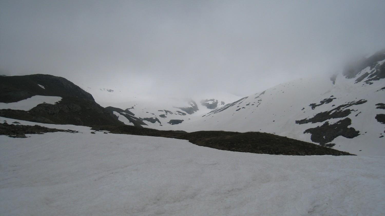 Conditions du jour: notre descente