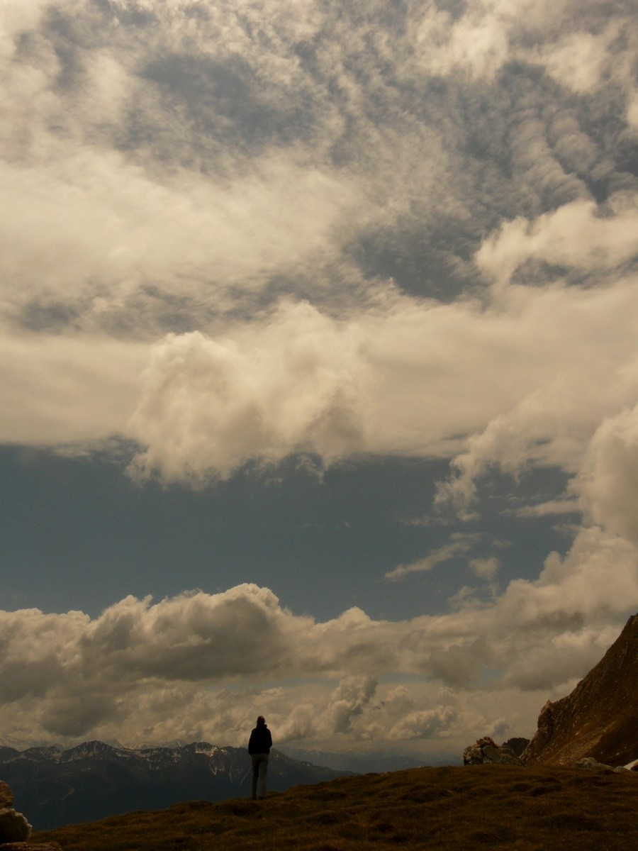 Au Col du Mont Rosset
