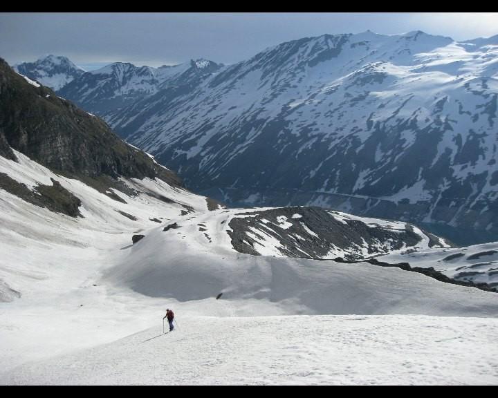Moraine du Schwarzbergletscher