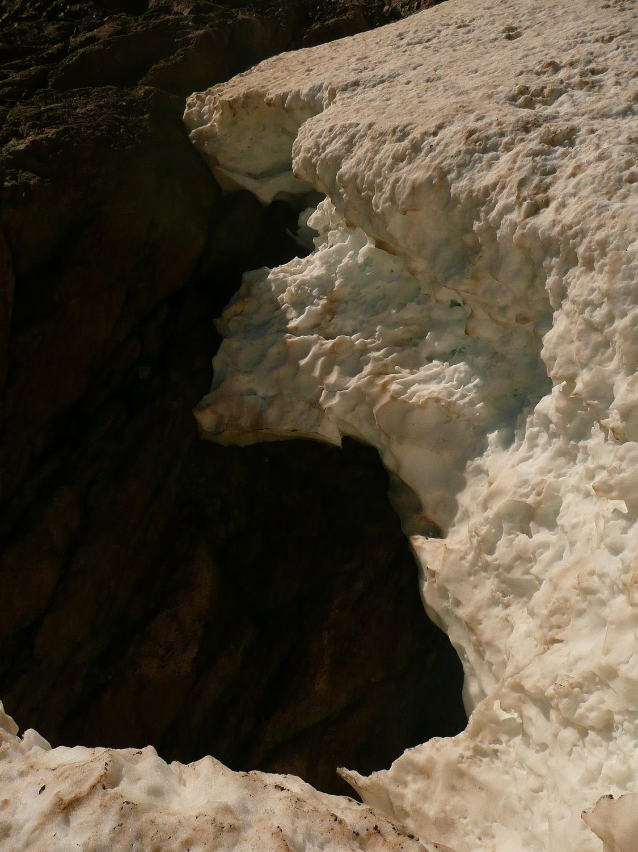 Fonte des glaciers corses!!