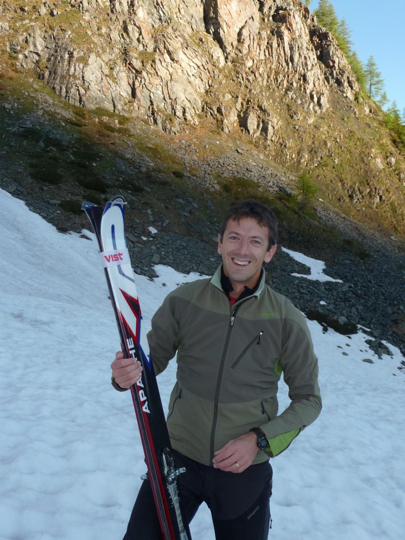 ....Marco e i suoi sci....