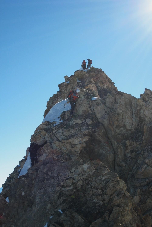 Ascension des rochers de la Roche Emile Pic