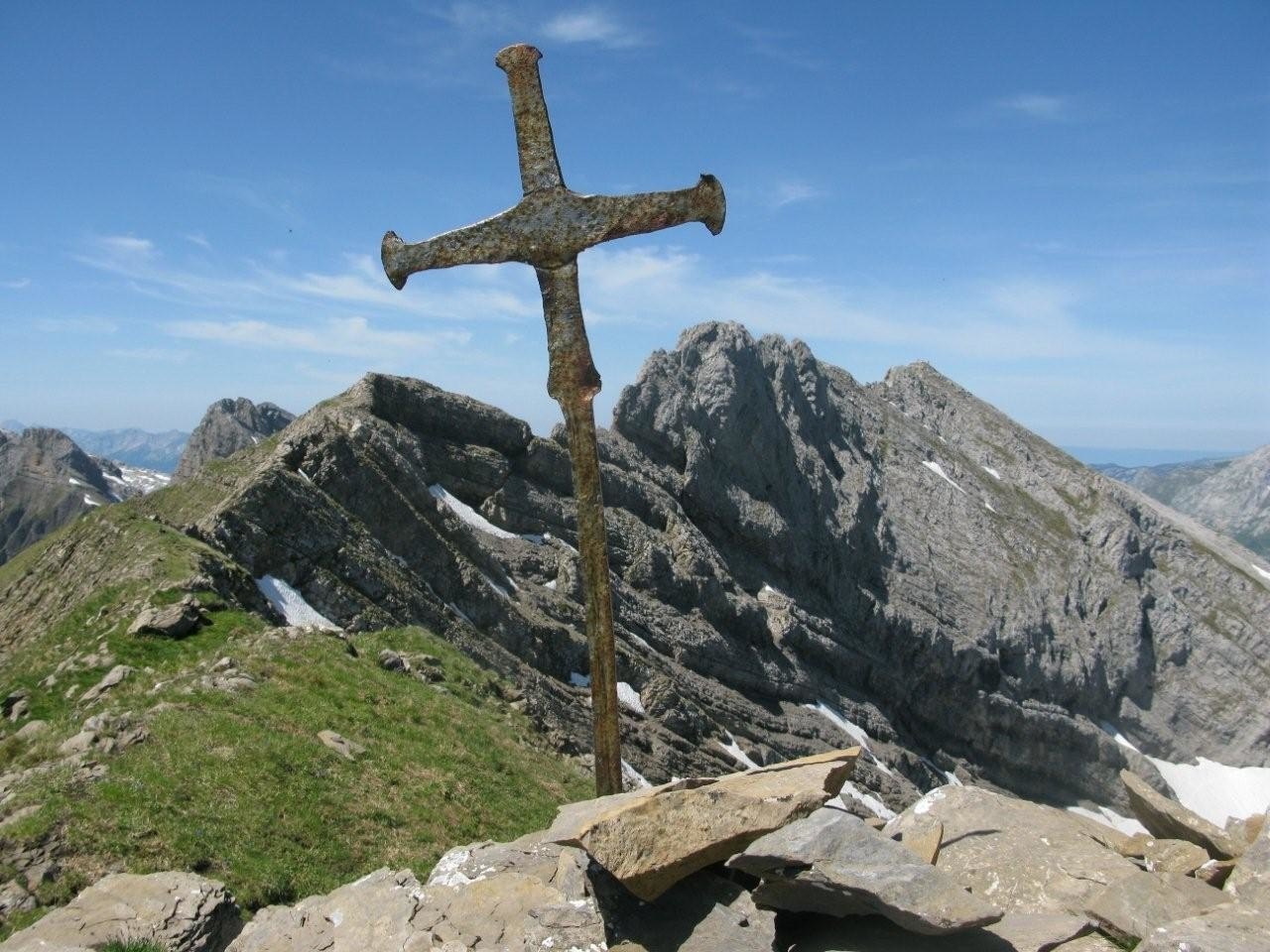 croix du sommet