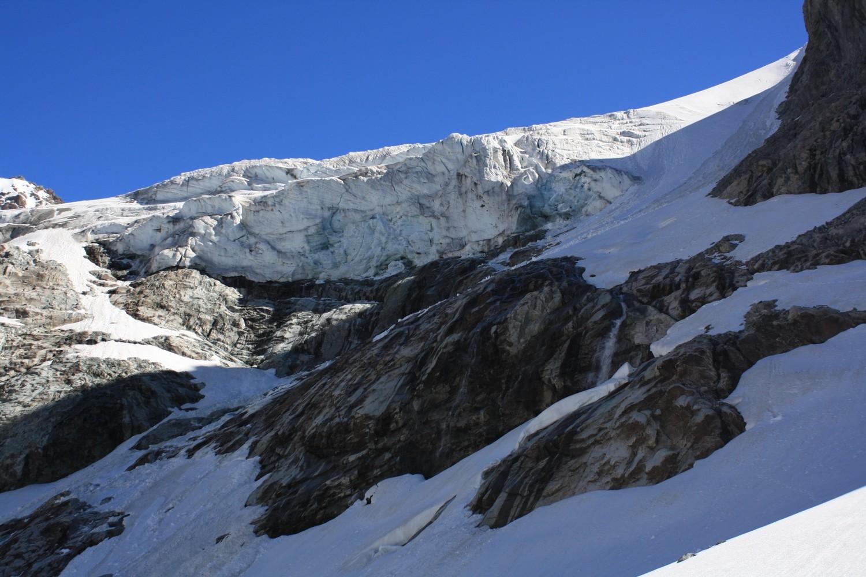 Le front du Glacier de la Selle