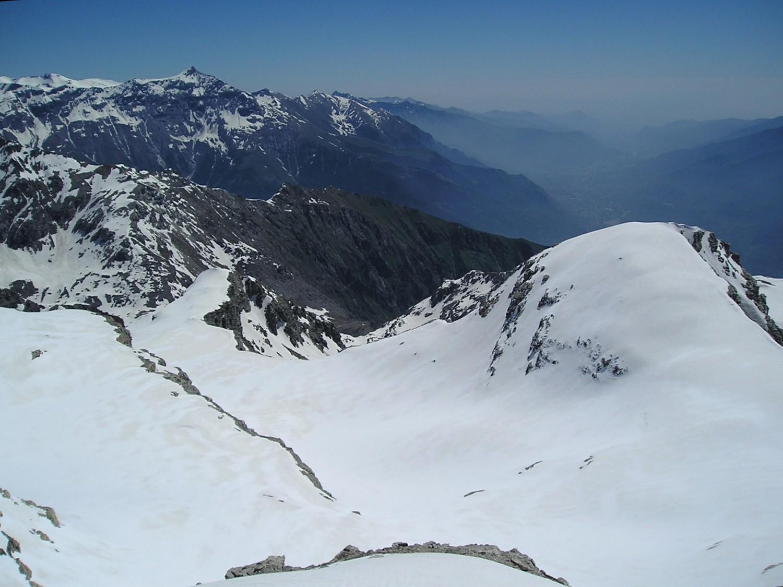 """La montagne """"la plus haute des Alpes"""" , au dessus de Susa"""