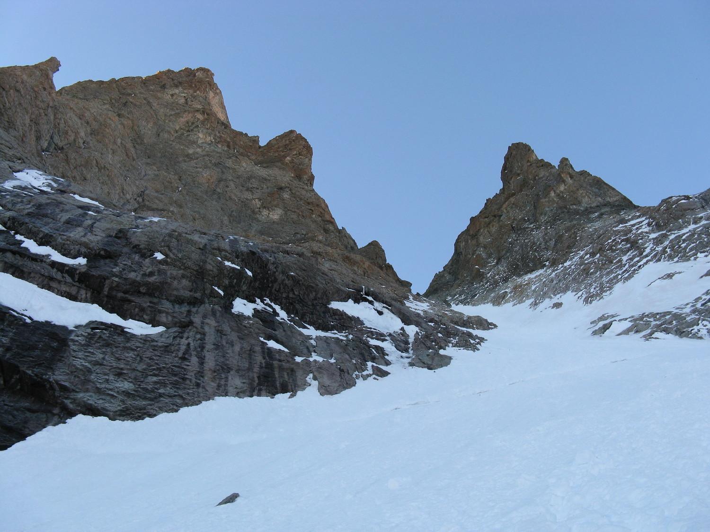 La rimaye, et les 300 derniers mètres (la sortie paraît proche, mais c'est juste une illusion...)