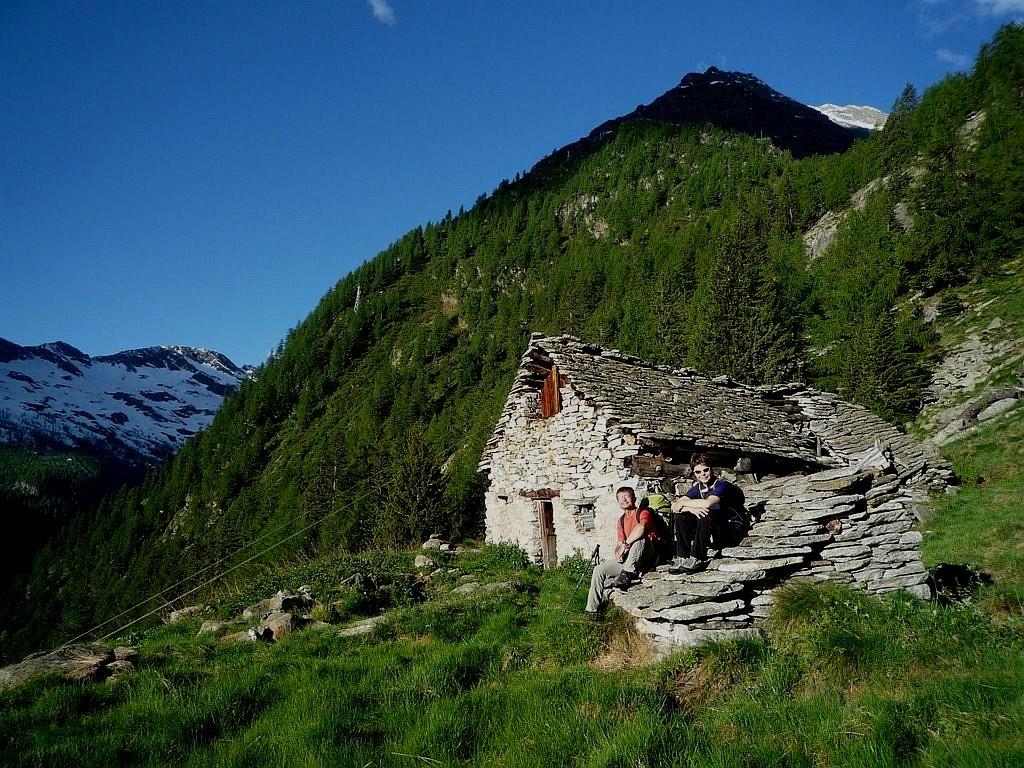 Valle Antrona, entre les lacs de Camposecco et de Campiccioli