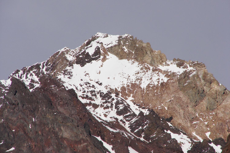 Detalle con zoom del Pico Navarro