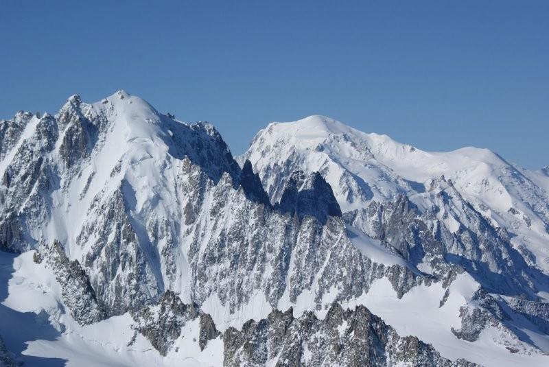 Vue depuis le sommet de l'Aiguille du Tour