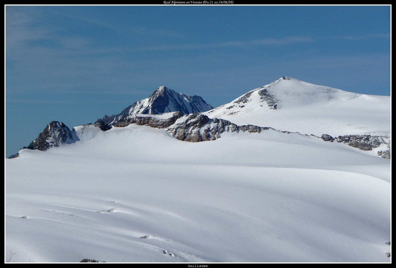 Le Mont Pelve depuis la Grande Glière